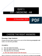 QUIZ 1-EAP -Med-AB with answers.ppt