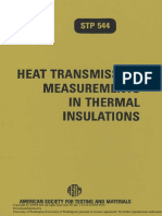 STP 544 - (1980) Heat Transmission Measurements in Thermal Insulations.pdf
