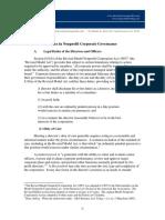 Basics in Nonprofit Corporate Governance - Takagi