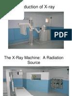Basics of X Ray Production