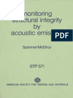 STP 571 - (1975) Monitoring Structural Integrity by Acoustic Emission.pdf