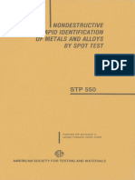 STP 550 - (1986) Nondestructive Rapid Identification of Metals and Alloys by Spot Test.pdf
