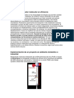 Factibilidad Del Motor Molecular en Eficiencia