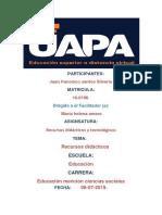 Taea 1 Recursos Didacticos y Tecnologicos