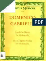 Domenico Gabrielli Cello Works - Copia