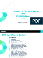 Operational Data Application User Manual