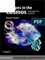 Donald Clayton Handbook of Isotopes in the Cosmos Hydrogen to Gallium Cambridge Planetary Science.pdf