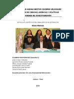 Impacto Ambiental de Los Pasivos Ambientales Mineros en La Región de Puno - Copia