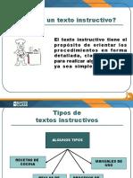 Texto instructivo ppt