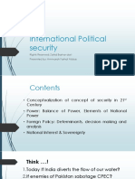 International Political Security