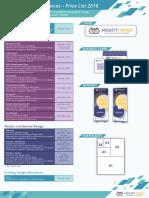 Corporate Graphic Design Pricing