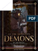 Mythic Monsters 01 - Demons