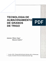 TECNOLOGÍA DE ALMACENAMIENTO DE GRANOS DE TRIGO