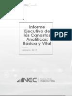 1. Informe Ejecutivo Canastas Analiticas Feb 2019
