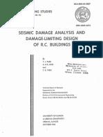 seismic damage analisis building and damage limiting design
