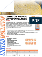 FICHA TECNICA DE LANA DE VIDRIO UNITED INSULATION C-S FOIL.pdf