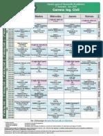 03 Horarios Primer Semestre Cursado FR San Rafael 2019 Civil