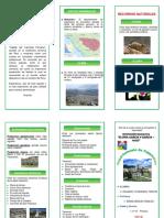 Triptico Departamento de Cajamarca