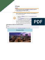 Economía Del Perú