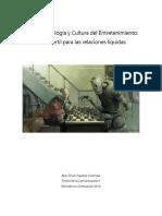 Nueva Tecnología y Cultura del Entretenimiento