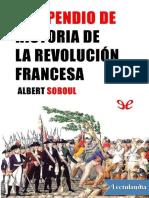 Compendio de la historia de la Revolucion francesa - Albert Soboul.pdf