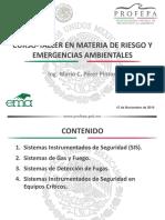 materia de riesgos y emergencias  ambientales