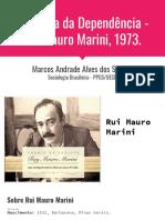 Rui Mauro Marini e a Dialética da Dependência