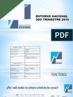 Encuestadora Pronóstico, entorno nacional de Venezuela, del segundo trimestre 2019