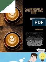Plan de exportación de café