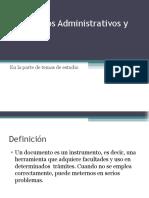 Documentos Administrativos y Legales en México