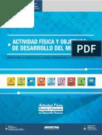 ACTIVIDAD FÍSICA Y OBJETIVOS DE DESARROLLO DEL MILENIO