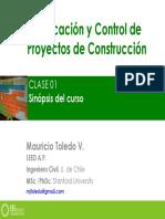 Capitulo 01- planificación de proyectos