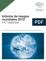 Informe Global de Riesgos 2019 Esp