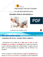 Examen Fisico de Rodilla