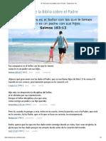 47 Versículos de La Biblia Sobre El Padre - DailyVerses.net