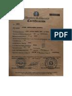Certificacion de B