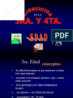 EJERCICIOS EN LA 3RA Y 4TA EDAD
