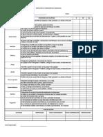 Check List Herramientas Manuales