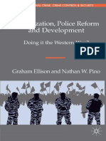 (Transnational Crime, Crime Control and Security) Graham Ellison, Nathan W. Pino (Auth.) - Globalization, Police Reform and Devel