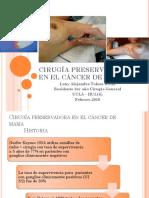 CIRUGÍA PRESERVADORA DE LA MAMA LATR R3 2019.pptx