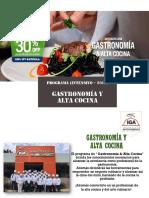 Gastronomía y Alta Cocina Intensivo Def