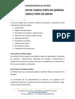 5 Contratacion de Consultoría en General y Consultoría de Obras