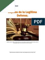 Unidad 3. Recurso 2. Lectura. Sujetos de La Legitima Defensa. 2018
