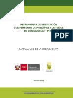 Verificación Principios de Biocomercio