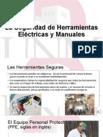 Seguridad herramientas electricas