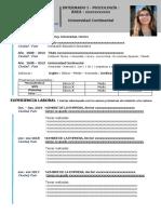 Plantilla CV - CISP