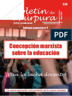 La Purpura 2 Revista Teórica