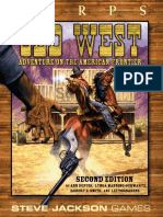 GURPS OLD WEST 2 edition