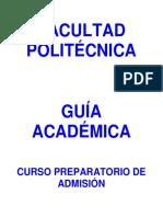 Reglamento Programas Admision 2019