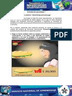 Evidencia 5 Ejercicio Practico Advertising and Web Page FASE PLANEACION